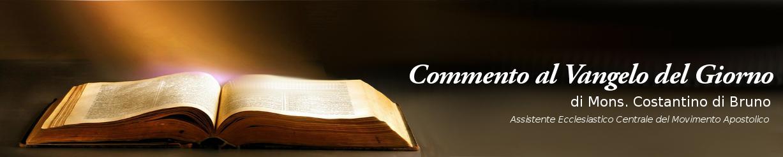 vangelo del giorno movimento apostolico